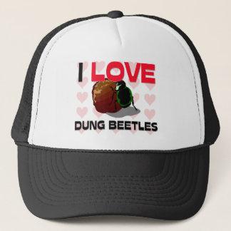Casquette J'aime des scarabées de Dung