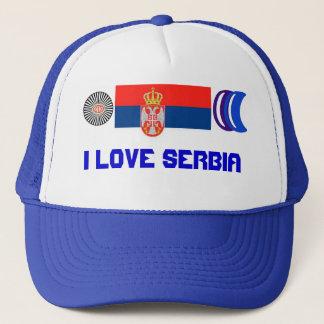 Casquette J'aime la Serbie