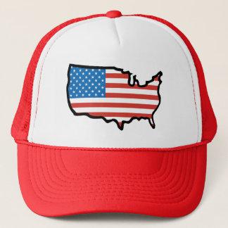 Casquette J'aime l'Amérique - les Etats-Unis diminuent