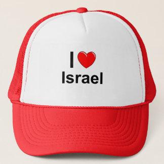 Casquette J'aime le coeur Israël
