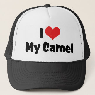 Casquette J'aime le coeur mon chameau
