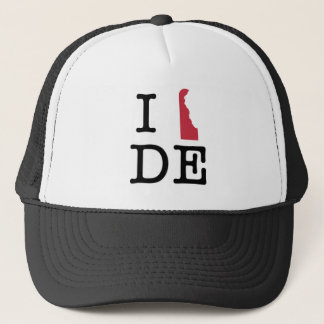 Casquette J'aime le Delaware