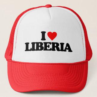 CASQUETTE J'AIME LE LIBÉRIA
