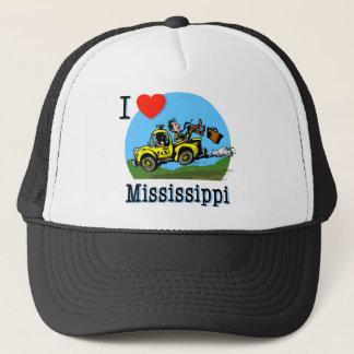 Casquette J'aime le taxi de pays du Mississippi