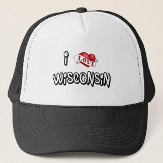 Casquette J'aime le Wisconsin
