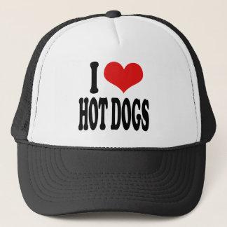 Casquette J'aime les hot-dogs