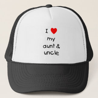 Casquette J'aime ma tante et oncle