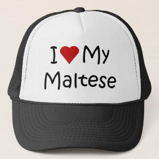 Casquette J'aime mes cadeaux et habillement maltais