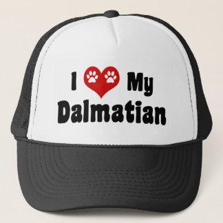 Casquette J'aime mon Dalmate
