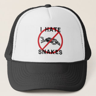 Casquette Je déteste des serpents