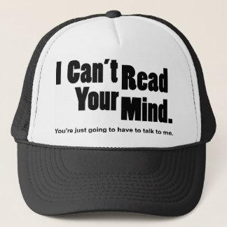 Casquette Je ne peux pas lire votre esprit