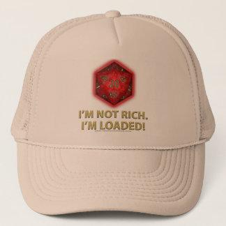 Casquette Je ne suis pas riche.  Je suis chargé !