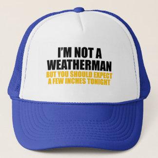 Casquette Je ne suis pas un météorologue
