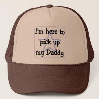 Casquette Je suis ici pour prendre mon papa