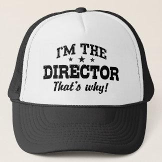 Casquette Je suis le directeur qui est pourquoi