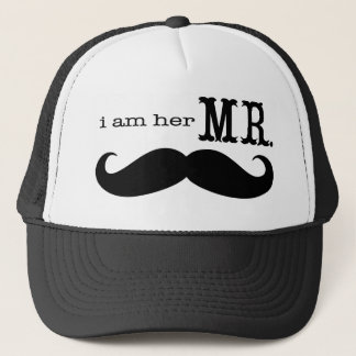 Casquette Je suis son M. Mustache Grooms Gifts