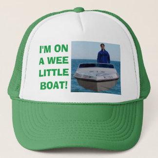 Casquette Je suis sur un petit bateau petit