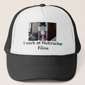 Casquette Je travaille aux films de casse-noix