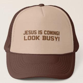 Casquette Jésus est prochaine énonciation drôle