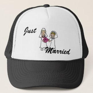Casquette Jeunes mariées lesbiennes dans l'amour
