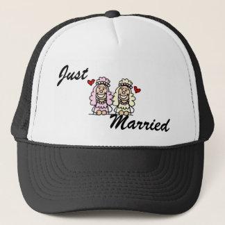 Casquette Jeunes mariées mignonnes