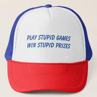 Casquette Jeux stupides de jeu…