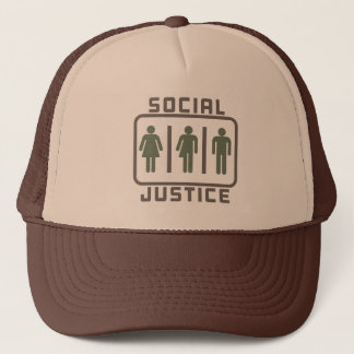 Casquette JUSTICE SOCIALE : Loi Meme de toilette d'école de
