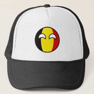 Casquette La Belgique Geeky tendante drôle Countryball