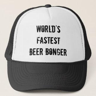 Casquette La bière la plus rapide Bonger du monde