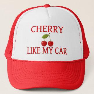 Casquette La cerise aiment ma voiture