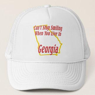 Casquette La Géorgie - souriant