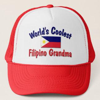 Casquette La grand-maman philippine la plus fraîche