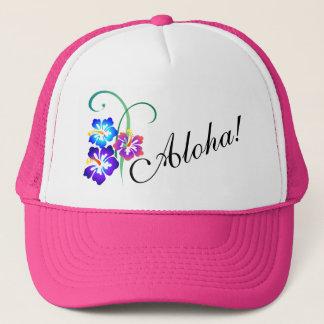 Casquette La ketmie hawaïenne fleurit Aloha