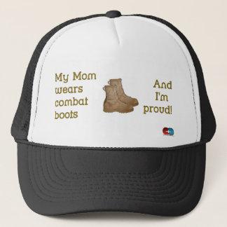 Casquette La maman porte le combat…