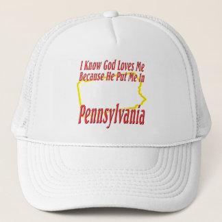 Casquette La Pennsylvanie - Dieu m'aime
