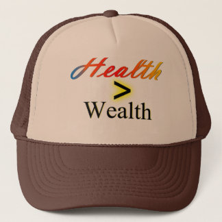 """Casquette la """"santé est richesse """""""