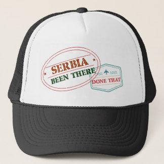 Casquette La Serbie là fait cela