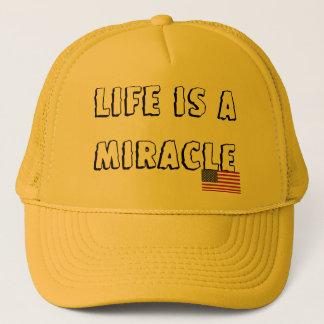 Casquette La vie est un miracle