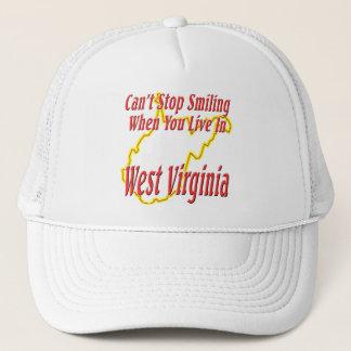 Casquette La Virginie Occidentale - souriant