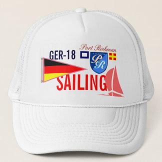 Casquette L'Allemagne naviguant GER-18 nautique