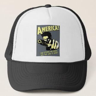 Casquette L'Amérique ! nos citoyens sont armés, et ils