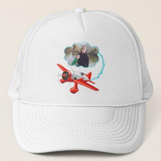 Casquette L'avion volant haut ajoutent votre photo