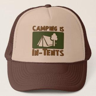 Casquette Le camping est des intentions