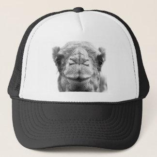 Casquette Le chameau embrasse la photo de plan rapproché
