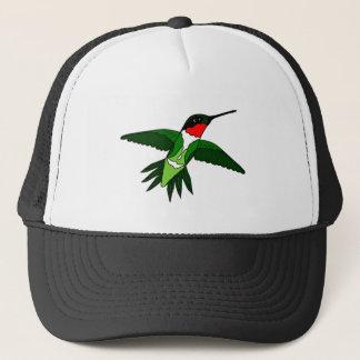 Casquette Le chapeau de colibri a obtenu l'attitude