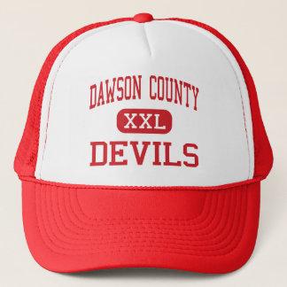 Casquette Le comté de Dawson - diables - haut - Glendive