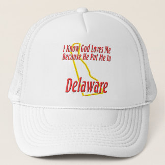 Casquette Le Delaware - Dieu m'aime