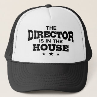 Casquette Le directeur Is In The House