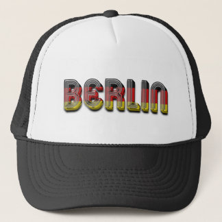 Casquette Le drapeau allemand de Berlin Allemagne colore la