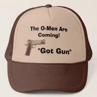 """Casquette le handgunz, """"a obtenu l'arme à feu"""", le présage"""